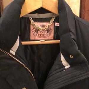 Juicy couture size M puffer coat